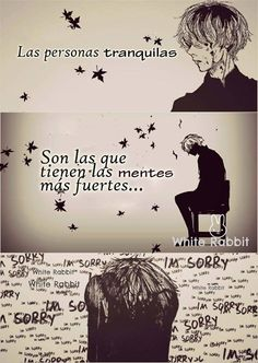 Imágenes Sad – Especial depresivo :'v Sad Anime, Anime Love, Kawaii Anime, Tokyo Ghoul, Anime Triste, Kaneki, True Quotes, Nostalgia, Love You