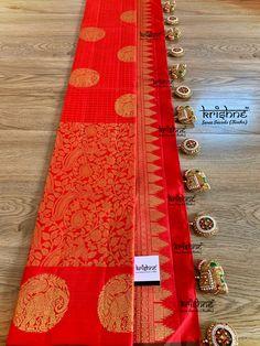 Saree Tassels Designs, Saree Kuchu Designs, Pattu Saree Blouse Designs, Fancy Blouse Designs, Bridal Blouse Designs, Saree Embroidery Design, Hand Embroidery, Silk Saree Kanchipuram, Silk Sarees
