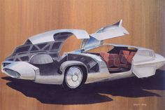 ✨From Deco to Atom✨CADILLAC CONCEPTS AND SKETCHES BY WAYNE KADY