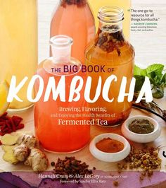 5 awesome, stress-busting reasons to love kombucha even more! | Fit Bottomed Eats