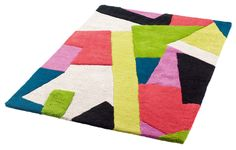This multi-coloured hand tufted rug will add a pop of colour to any room it is placed in and be sure to make a statement you will want to walk on.