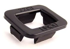 1983-1993 Mustang window guide bushings side to side slop as you roll them up or down.