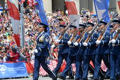 4 Ideas To Celebrate Memorial Day  - Since the Memorial Day is the last Monday in May, it serves as an introduction to the fresh vibes of summer. This day is a great time for taking rest ... -  The U.S. Air Force Honor Guard marches during the National Memorial Day Parade in Washington, D.C., May 25, 2015. The National Memorial Day Parade was first launched in 2005 by the American Veterans...