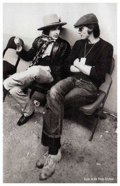 Bob Dylan and Sam Shepard