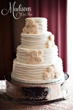 Is this a new trend in wedding cakes