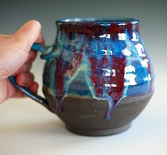 Extra Extra Extra Large Coffee Mug, 48 oz, handmade ceramic cup, coffee cup. $50.00, via Etsy.