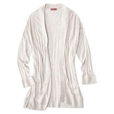 Merona® Women's 3/4 Sleeve Open Cardigan Sweater - Assorted Colors