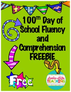 Comprehension Questions, Reading Comprehension, 2nd Grade Reading Worksheets, 100 Words, Reading Intervention, 100 Days Of School, Retelling, 100th Day, Second Grade