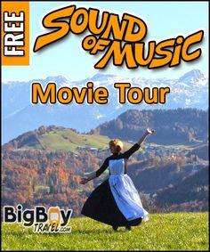 Sound of Music Movie Tour In Salzburg - Film Locations Walking Tour Map
