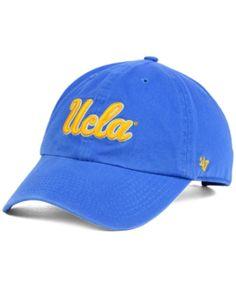 wholesale dealer 27f91 24383  47 Brand Ucla Bruins Clean-Up Cap - Blue Adjustable Ucla Hat, Ucla.