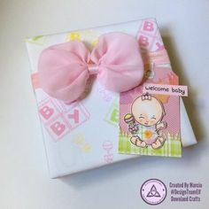 Clear Photopolymer New Baby Stamps Welcome Baby, New Baby Products, Stamps, Card Making, Paper Crafts, Gift Wrapping, Crafty, Projects, How To Make