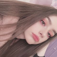 How are you doing?💖 Have you checked up my new video?🤔 What do you think about that? Kawaii Makeup, Cute Makeup, Makeup Looks, Aesthetic Makeup, Aesthetic Girl, Girl Pictures, Girl Photos, Tmblr Girl, Beauté Blonde