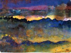 Ocean - Emil Nolde (1867-1956)