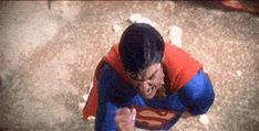 Angry Superman GIF - superman-the-movie Fan Art