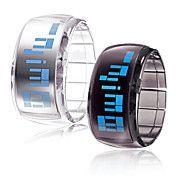 Tweetal Futuristische Polshorloges Blauwe LED... – EUR € 12.41