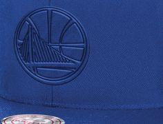 Golden State Warriors Tonal Ballistic Snapback Cap by MITCHELL & NESS x NBA