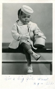 LIL' MISS SWEET THANG!   1950s via Black History Album, The Way We Were