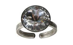 Konplott Ring Rivoli White Crystal