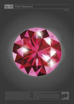 'Rosa Diamant' von Marcus Becker bei artflakes.com als Poster oder Kunstdruck $15.77