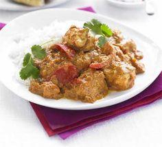 The best Chicken Tikka Masala recipe I have found - BBC Good Food! Chicken Tikka Masala, Tikka Masala Paste, Chicken Curry, Chicken Tika, Bbc Good Food Recipes, Indian Food Recipes, Dinner Recipes, Healthy Recipes, Delicious Recipes