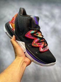 4437fae1c509 Nike Kyrie 5 Multi-Colour Men s Basketball Shoes Irving Sneakers