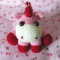 Pink Baby Unicorn - crochet pattern