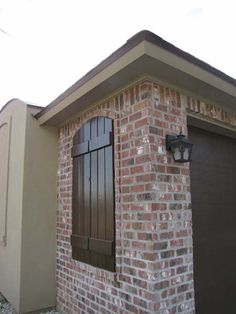 THE FAUX WINDOW w/SHUTTERS - claymex Portogalo Antique brick - Google Search