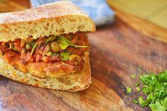 Chicken Puttanesca Sandwich via LittleFerraroKitchen.com by FerraroKitchen1, via Flickr