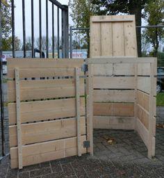 Kliko-ombouw voor 1 kliko | Kliko-ombouw | Stoere Tafels