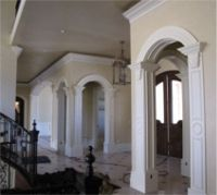 1000 images about arched opening on pinterest arches for Decorative archway mouldings