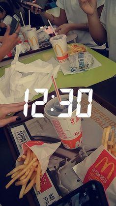 pinterest| @universexox ♏ Caption For Sisters, Snapchat Time, Smoke Photography, Snap Food, Poses, Tumblr Girls, Girl Hair, Beautiful Moments, Mcdonalds