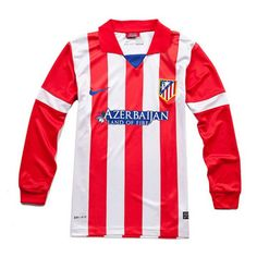 Camiseta del Atletico de Madrid manga larga Casa 2013-2014  para más de 80 € ahorro 10% - See more at: http://www.camisetasdefutbolbaratasdhl.es/camiseta-del-atletico-de-madrid-manga-larga-casa-20132014-p-89.html#sthash.R2WykZM5.dpuf