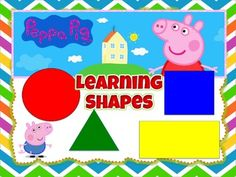 SHAPES and COLORS - Fully Animated with sound effects- Fully EditableI am sure your students will enjoy this Peppa Pig lesson. All the slides have Peppa Pig pictures. This is a very good review for COLORS and for introducing SHAPES for the first time.