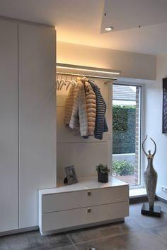 Living room design - custom made furniture in Münsterland: modern hall, hallway . Ikea Living Room Furniture, Hallway Furniture, Furniture Making, Home Furniture, Log Home Decorating, Hallway Decorating, Entryway Decor, Flur Design, Decoration Entree