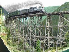 """Railroad Line Forums - The Gallery: April '08 """"Bridges & Trestles"""""""