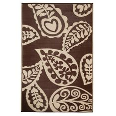 Paisley 6x9 Chestnut now featured on Fab.