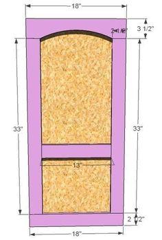 Build a Playhouse Door