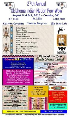 """27th Annual Oklahoma Indian Nation Pow-Wow"" - Now Happening!!! Event will lasts until tomorrow. See you and your friends!"