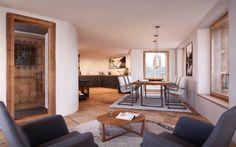 Wohnen - Essen - Küche / Wohnung 1.OG : Rustikale Esszimmer von von Mann Architektur GmbH