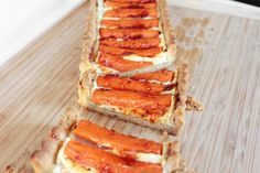 Carrot and Goat Cheese Tart