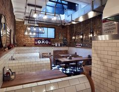 Polo 24 Hour Bar - from breakfasts to booze, any time of day. Bishopsgate, London.