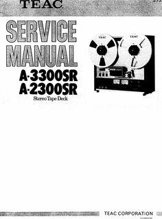 Akai GX-255 reel to reel tape recorder Service Manual