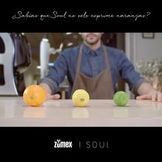 Soul se atreve con naranjas, limones y limas, si aún no lo has visto puedes hacerlo ahora. https://www.youtube.com/watch?v=XUYE2MWy2Yk ‪#‎ZumexSoul‬ ‪#‎enjuiceyourlife‬ ‪#‎orange‬ ‪#‎lemon‬ ‪#‎lime‬ ‪#‎juice‬ ‪#‎delicious‬