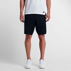 NWT Nike Sportswear Bonded Men's Shorts Black on Black 823365 010 SZ 32 Clothing, Shoes & Accessories:Men's Clothing:Athletic Apparel #nike #jordan #shoes houseofnike.com $69.45