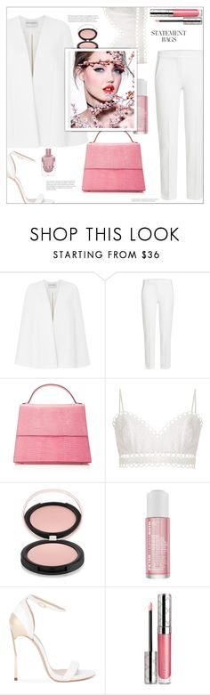 """Untitled #255"" by arwitaa ❤ liked on Polyvore featuring Amanda Wakeley, MaxMara, Hunting Season, Zimmermann, Estelle & Thild, Peter Thomas Roth, Casadei and By Terry"