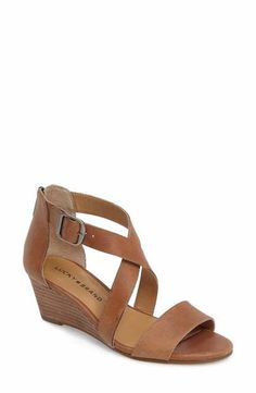 fc9329ec64aa Lucky Brand Jenley Wedge Sandal (Women) - these sandals would work well in  the