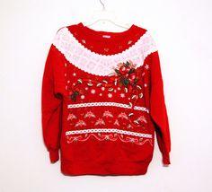 923238cf3750 65 Best 80s / 90s Christmas Sweatshirts images | Blouses, Hoodies ...