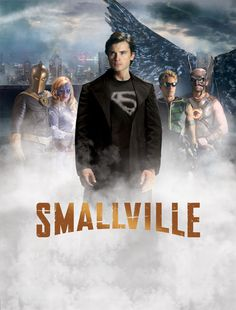 Smallville with the Justice Society: Dr. fate, Stargirl, Superman, Green Arrow and Hawkman! :)