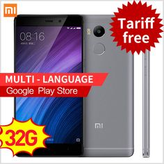 """Original Xiaomi Redmi 4 Pro 3GB RAM 32GB ROM Snapdragon 625 4100mAh Fingerprint ID 5.0"""" Metal Body 13.0MP Redmi4 Mobile Phones -- Find out more on AliExpress website by clicking the VISIT button"""