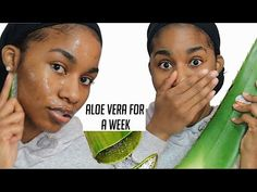I used Fresh Aloe Vera on My Face for A WEEK...This is what happened. - YouTube Using Aloe Vera Plant, Aloe Vera Uses, Fresh Aloe Vera, Aloe Vera Mask, Aloe Vera For Face, Aloe Vera Skin Care, Beauty Cream, Hair Growth Oil, Skin Treatments